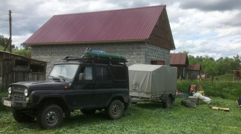 Приезд на Алтай
